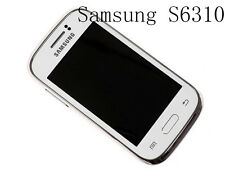 Android Unlocked SAMSUNG GALAXY YOUNG S6310 Original 3G Wifi 3MP 4GB Smart 3.0''