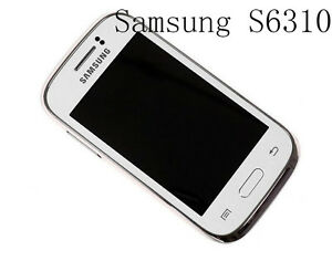 Original Android 3.0'' SAMSUNG GALAXY YOUNG S6310 3G Wifi 3MP 4GB Unlocked Phone
