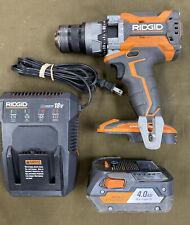 RIDGID (R8611506) - 18V OCTANE Brushless Hammer Drill w/ 4Ah Battery & Charger