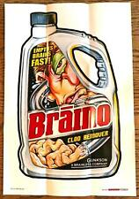 WACKY PACKAGES POSTERS Series 1 (2012)--Poster #8: Braino^