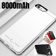 8000mAh Power Bank Battery Charger Case Charging Cover for iPhone 6 7 8 Plus SE
