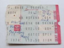 I ROLLING STONES TICKET 1ST LUGLIO 1978, Cleveland, Ohio, U.S.A.