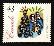Canada #1533 LF MNH, Christmas Carolling Stamp 1994