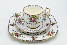 Royal Albert Petit Point 3pc Luncheon Set #778676 - Cup Saucer Underplate