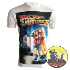 Premium Quality Retro Back To The Future 2 Mens Womens Unisex Organic T-Shirt