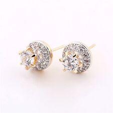 Earrings Women's Engagement Jewelry Gift Modou Unique White Topaz Wedding Stud