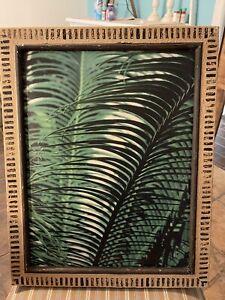 Disney Polynesian Resort Room Wall Art Tropical Leaves  Prop
