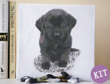 Puppy Love - Labrador Dog Cross Stitch Kit