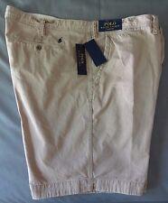 Polo Ralph Lauren Mens Shorts 50B Montana Khaki Cotton NEW