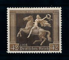 [70526] Germany Reich 1938 Brown Ribbon Horse Race Mi. 671 MNH OG