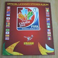 UU WORLD y Canadá Pegatinas-Elegir Desplegable PANINI WOMEN Copa Canadá 2015-EE