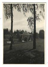 Foto, MORSCHIN, MORSHYN, Polen, Ukraine, ca. 1938, Park, Brunnen, Tempel