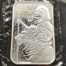 NEW 2021 Britain Great Engravers Una and the Lion 1 oz Silver Bar SHIPS NOW