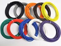 50' AUTOMOTIVE WIRE 10 AWG HIGH TEMP GXL WIRE 5 FT EACH COLOR MADE IN U.S.A