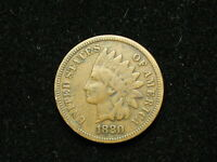 ESTATE SALE FIND 1880 INDIAN HEAD CENT PENNY * NICE COLLECTIBLE U.S. COIN #244v