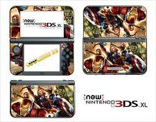 HAUT STICKER AUFKLEBER - NINTENDO NEU 3DS XL - REF 178 AVENGERS