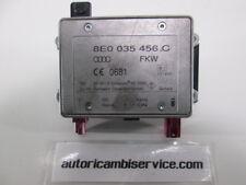 8E0035456C CENTRALINA AMPLIFICATORE ANTENNA AUDI A4 2.0 D SW AUT 103KW (2007) RI