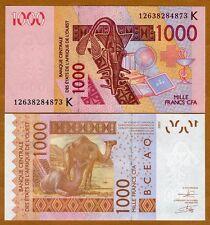 West African States, Senegal, 1000 francs, 2003 (2012), Pick 715K, UNC