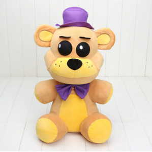"""FNAF Five Nights at Freddy's Collector Golden Freddy Doll Plush Toys 45CM 18"""" S5"""