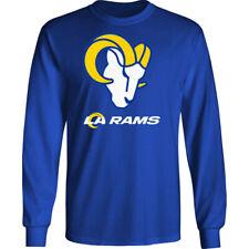 Los Angeles Rams Long T-Shirt Graphic Men Cotton LA