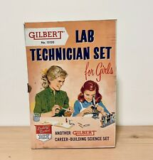 Gilbert No. 13120 Lab Technician Set For Girls