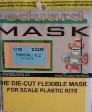 Eduard 1/72 CX428 Canopy Mask for the Italeri Short Stirling Mk I kit