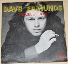 "Dave Edmunds-Trouble Boys-1978 Mint Vinyl 7""-Swan Song SS19.415-Holland"