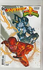 DC & BOOM JUSTICE LEAGUE POWER RANGERS #1 MARCH 2017 FLASH VARIANT NM