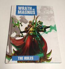 Wrath of Magnus Campaign Book Supplement Rulebook Hardback Warzone Fenris
