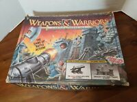 Weapons and Warriors Castle Combat Game Pressman Incomplete in box