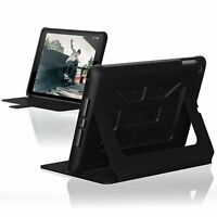 Urban Armor Gear Inc IPD17-E-BK/BK Folio New iPad Rugged Case, Midnight