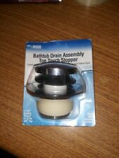 Bath Tub Drain Assembly Toe Touch Foot Operated Stopper
