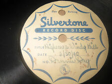 78RPM Sivertone air check One of a Kind Dennis Day, High Windy Hill / Vili V V-