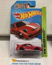 Porsche 911 GT3 RS #196 * RED * 2015 Hot Wheels * C12