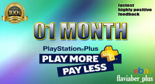 For PS4 - PlayStation Plus - 28 Days - No Code - Online Play - Works Worldwide