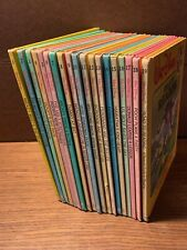 Walt Disney Fun-To-Read Library Complete 19 Volume Set Vtg 1986 Bantam Books