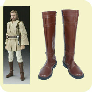 New!Star Wars Obi-Wan Kenobi Cosplay Shoes Boots