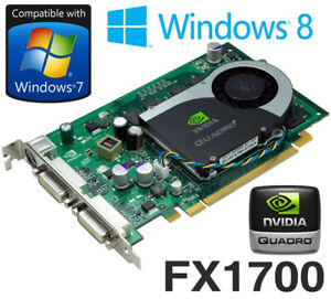 nVidia Quadro FX 1700 512MB PCI-Express Dual DVI Graphics Card Dell RN034 0RN034