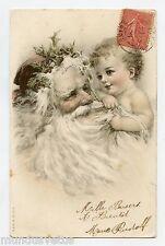 Magnifique Père NOËL . Bébé . Santa CLAUS . Baby . CHRISTMAS