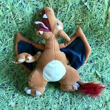 """VINTAGE OFFICIAL POKEMON PLAY BY PLAY 10"""" CHARIZARD PLUSH TOY NINTENDO RARE"""