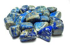 TUMBLED - (1) Large LAPIS LAZULI Crystal w/Description Card- Healing Stone Reiki
