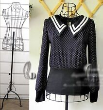 Female Black Metal Wire Mannequin on base Adjustable Height AU SELLER d010