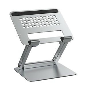 Adjustable Ergonomic Aluminum Laptop Stand Portable Notebook Tablet Holder Riser