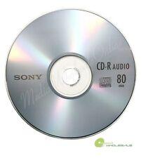 20 SONY Blank Music CD-R CDR Branded 80min Digital Audio Disc in paper sleeves