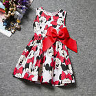 Bambino Vestito estivo Party Princess prendisole lungo maglia 1-7 anni