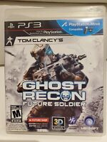 Tom Clancy's Ghost Recon: Future Soldier (Sony PlayStation 3, 2012) UBISOFT PS3