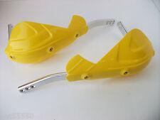New Enduro Motocross Trail Hand Guard Yellow Suzuki Rm Rmz Rmx Dr Drz Tc Ltz Fc
