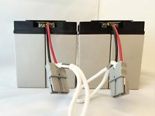 RBC55 Replacement Cartridge with 4X 12 Volts 18 AH SigmasTek Brand Batteries