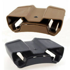 Tactical Double Magazine Holster Mag Pouch Case Stack QD for Colt 1911