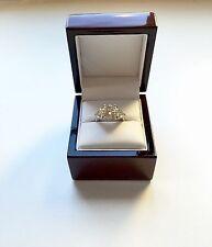 14k Size7 White Gold Moissanite Diamond Ring 8 Carat